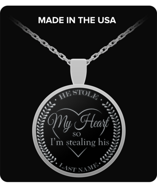 Gift For Wife Jewelry - Silver Chain Necklace - Lovely Gift - Uncle Seal