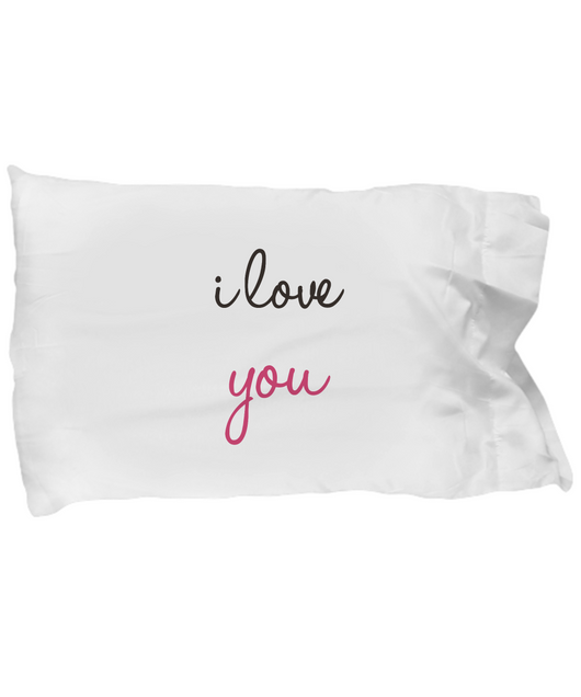 I love you design - Pillow Case - Uncle Seal