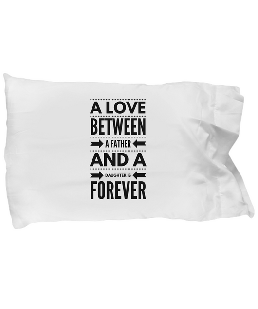 Father and Daughter Love - Pillow Case design - Uncle Seal