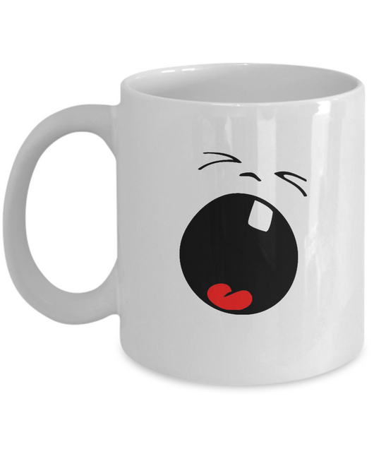 Shouting! - Funny Coffee Mug Design - Uncle Seal