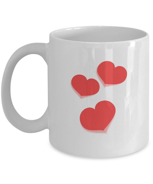 Red Heart mug design - Uncle Seal