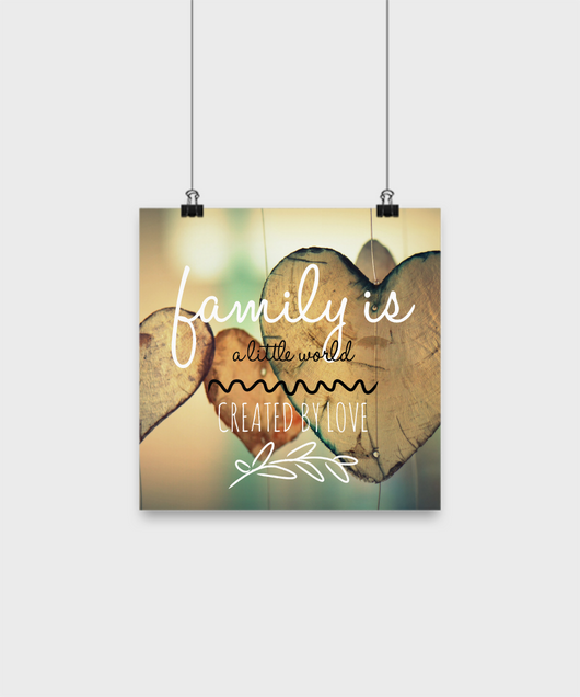 Family love design - Poster 10x10 - Uncle Seal