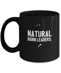 Zodiac Signs Coffee Black design Mug - Leo sign - Uncle Seal