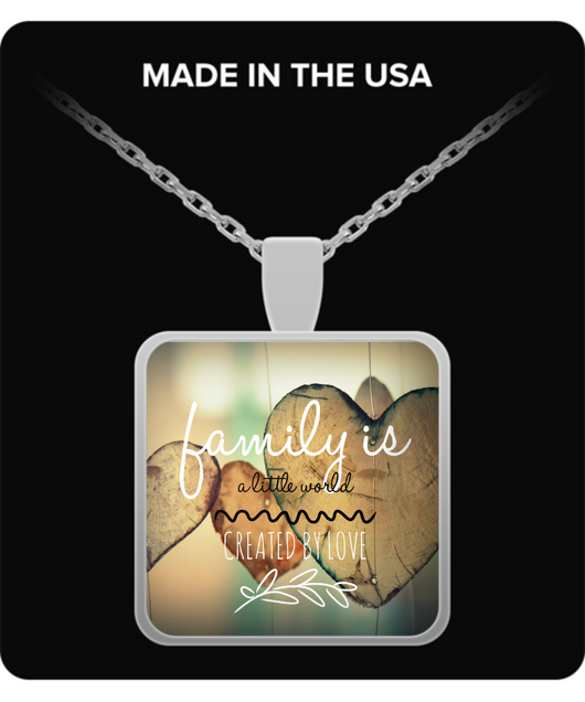 Family love design - Necklace - Uncle Seal