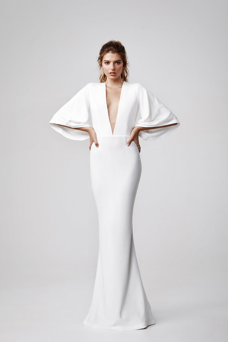 "Lexi ""Lulu"" Gown in White"