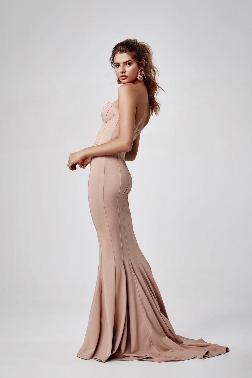 "Lexi ""Sahar"" Gown in Blush"