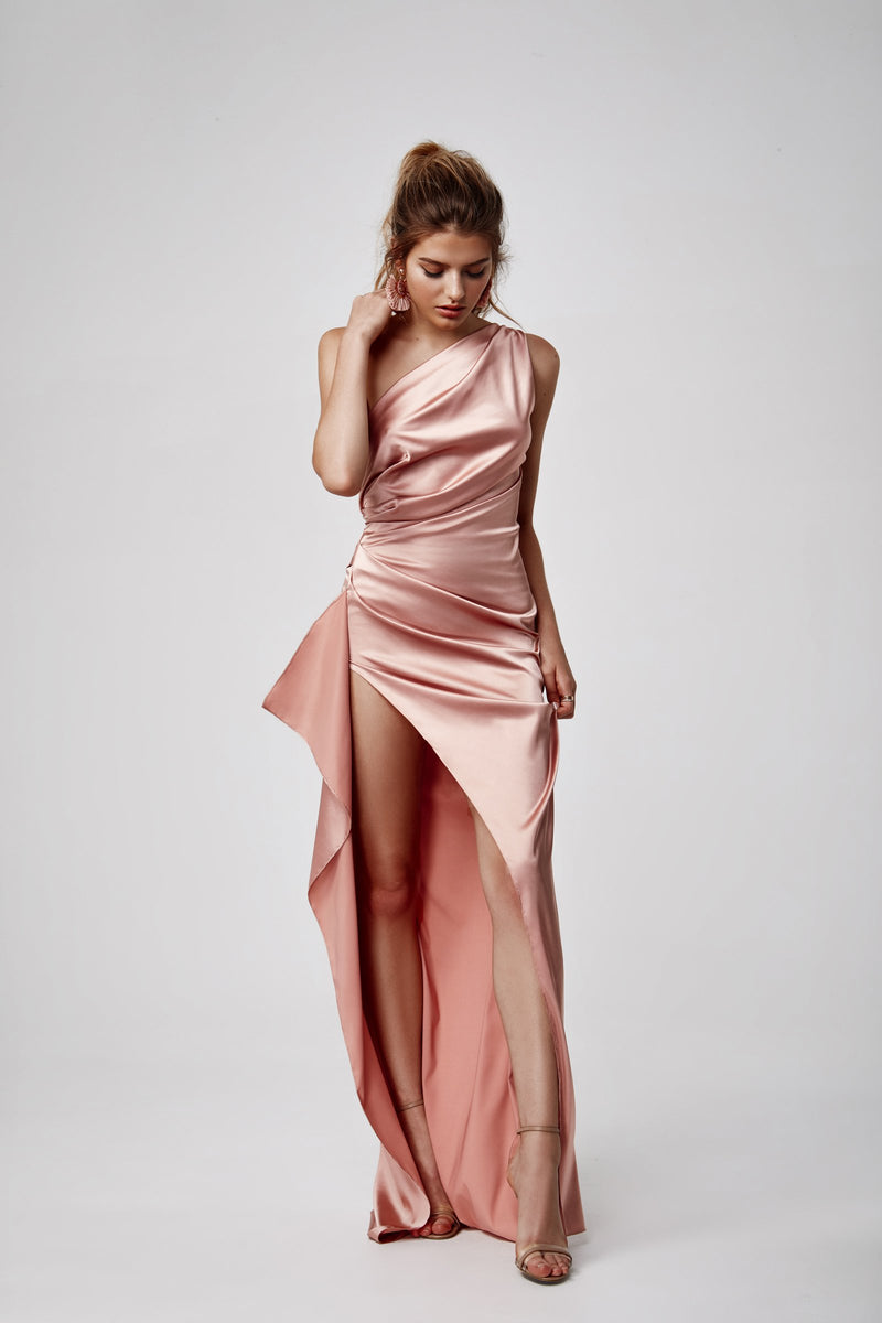 "Lexi ""Samira"" Gown in Blush Pink"