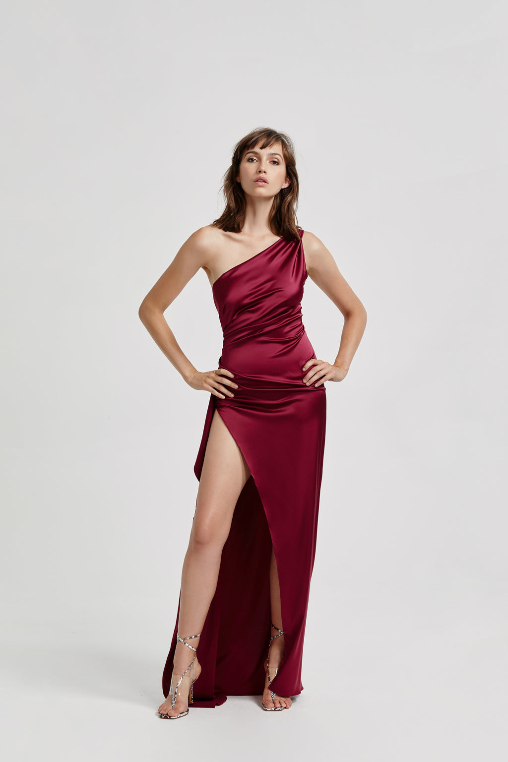 "Lexi ""Samira"" Dress - Burgundy"