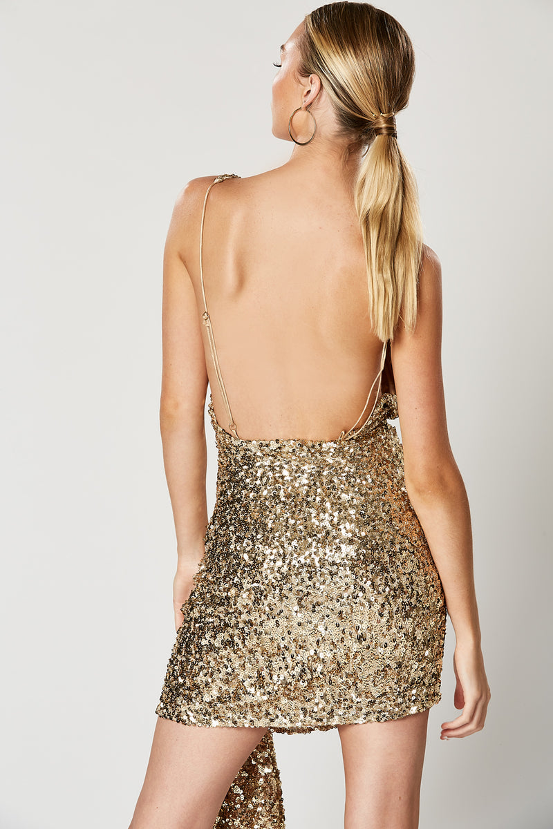 Winona Thrill Backless Dress