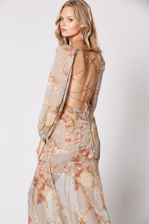 Winona Harmony Tie Back Dress