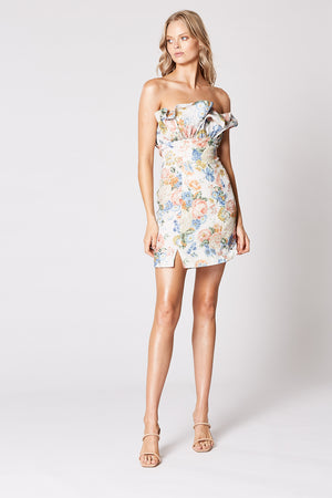 Winona Flair Frill Mini Dress