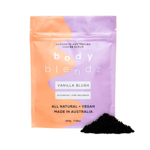 Body Blendz Vanilla Blush Coffee Scrub