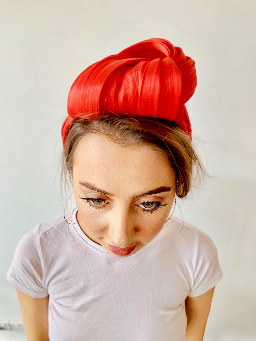 "Murley & Co ""Urban Turban"" Red"