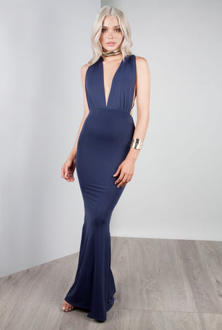 "Zachary the Label ""Pia"" Gown - Pebble"