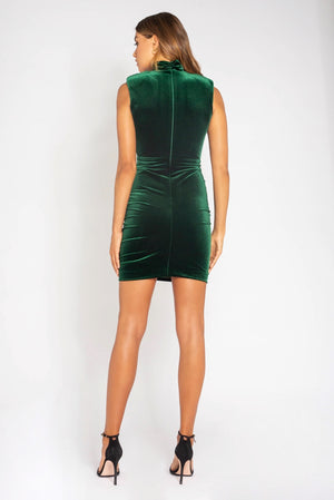 Bianca & Bridgett Natalia Dress - Emerald