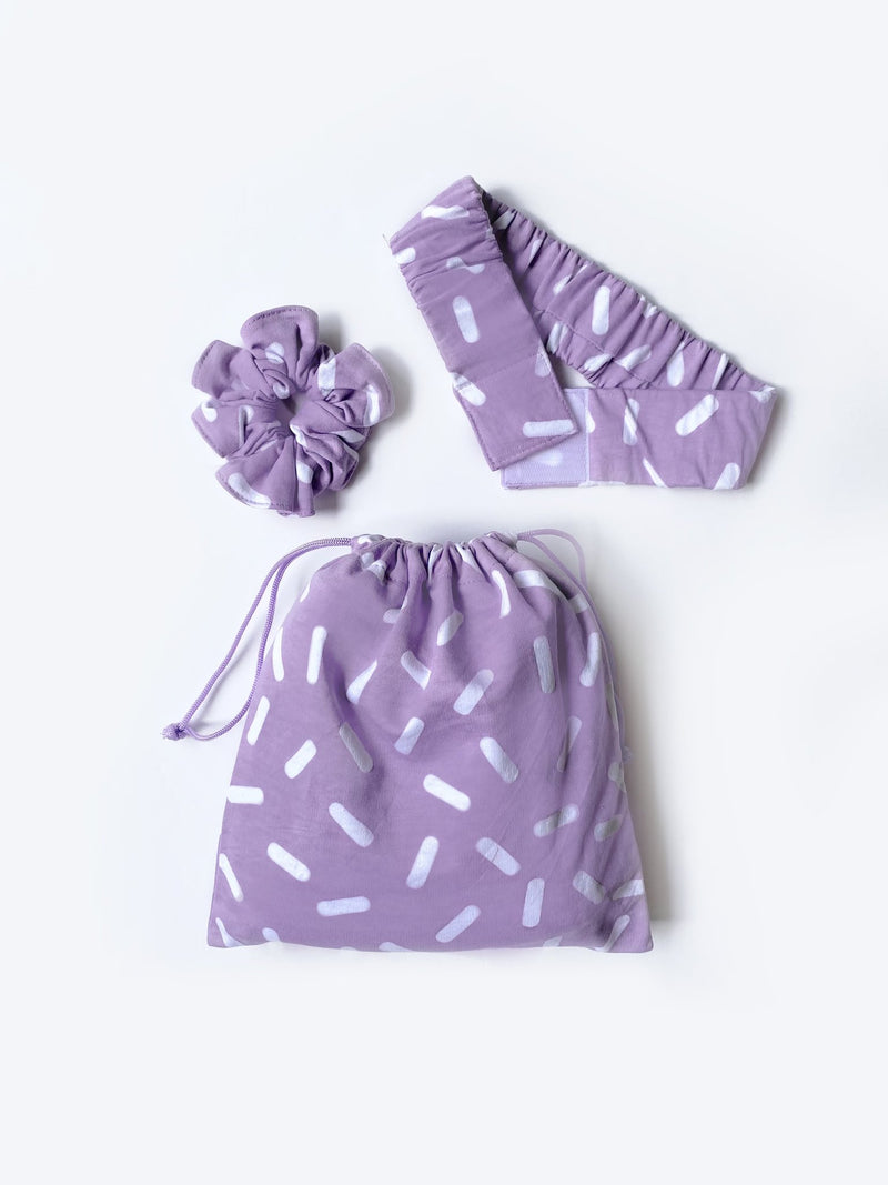Prep Dress - Essentials Lilac Sprinkles