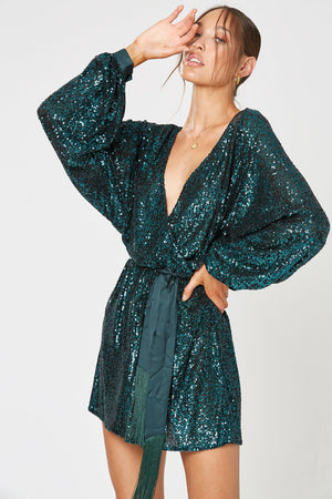 "Winona ""Broadway"" Dress Green"