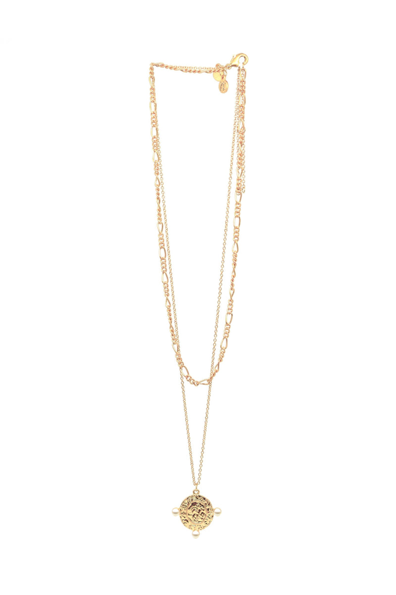 Bling Bar Dolce Pearl Necklace Set