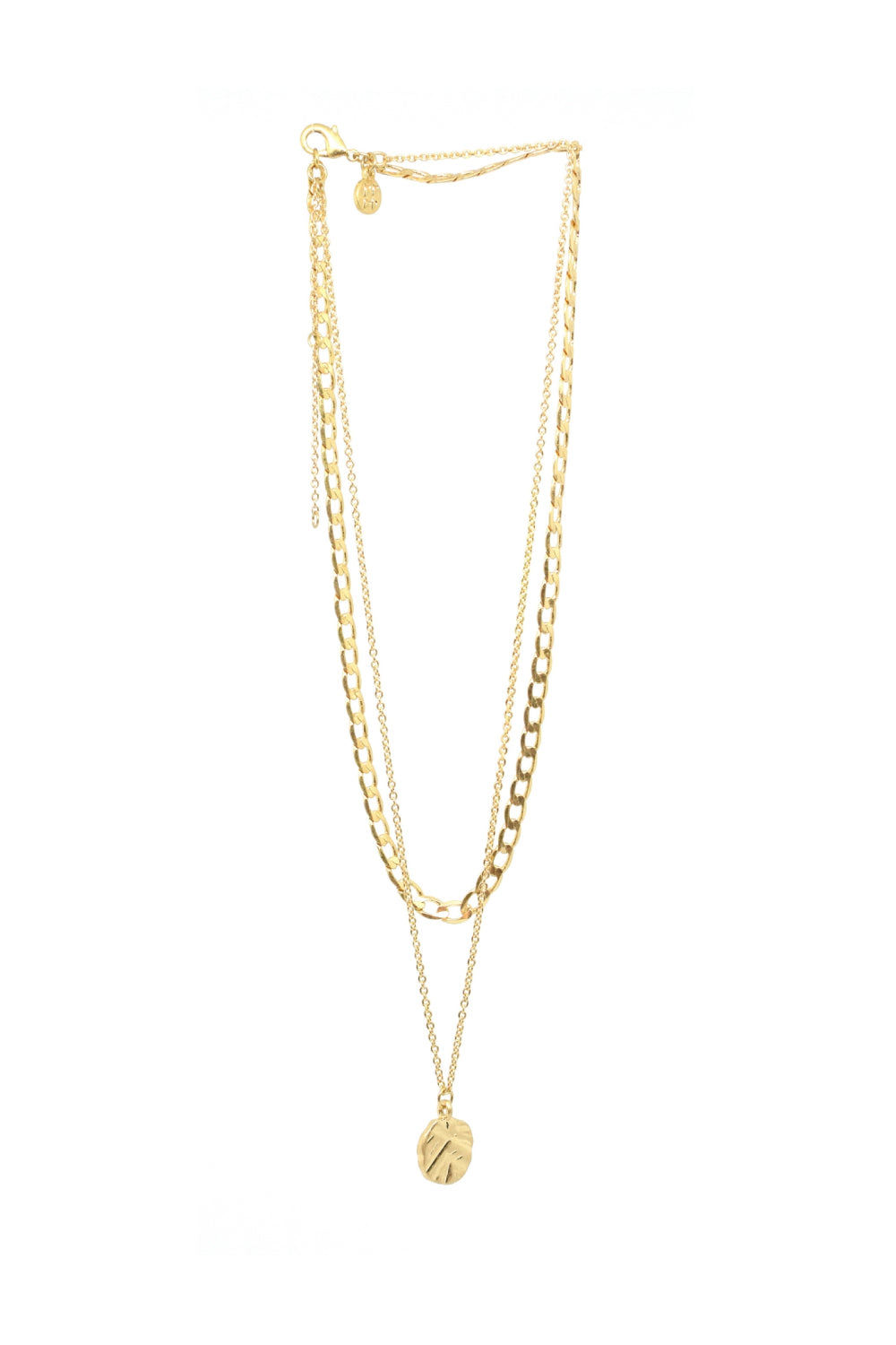 Bling Bar Odine Double Necklace