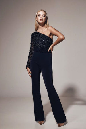 Kianna Beaded Jumpsuit