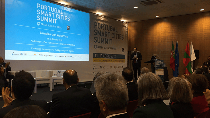 Portugal Smart Cities Summit 2018 - Resumo dia 1