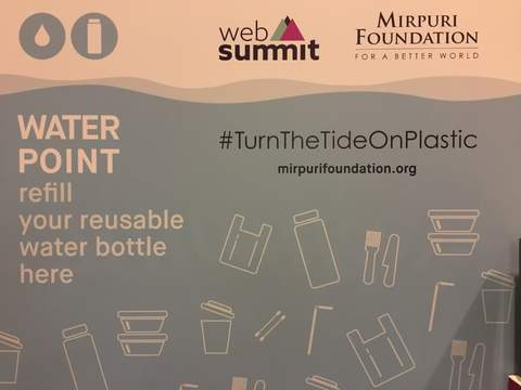 Web Summit Lisbon 2018 - Mirpuri Foundation Water Point