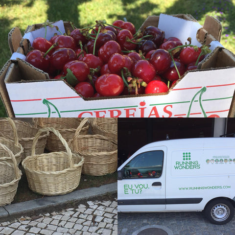 Cereja de Resende - Cesta de Verga - Comércio Local - EDP Running Wonders Guimarães