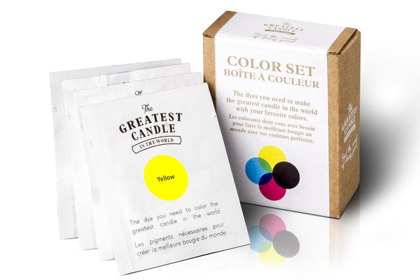 Kit de cores para velas feitas em casa Greatest Candle in the World