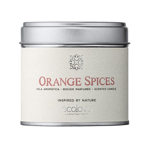 "Vela aromática ecológica ""Orange Spices"""