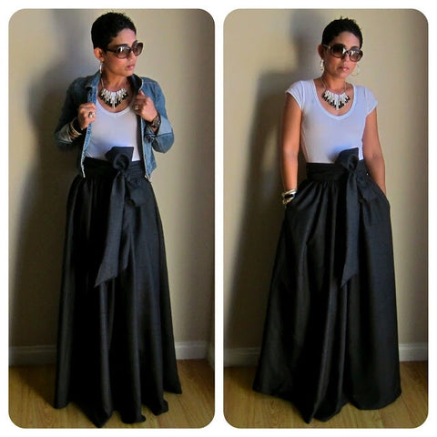 Maxi Floor Length Skirt
