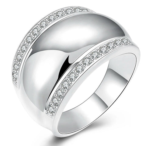 Modern 925 Sterling Silver Rings For Women