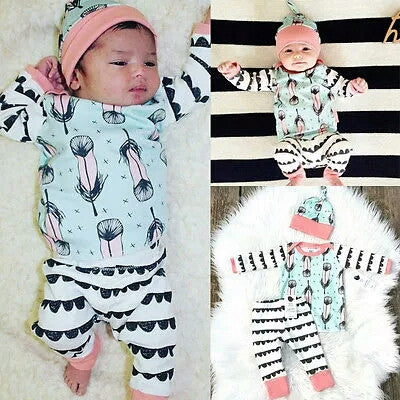 Baby 3PCS Cotton Set