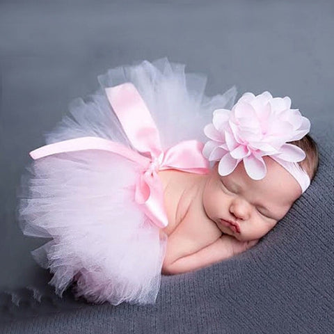 Baby Girl TuTu With Headband