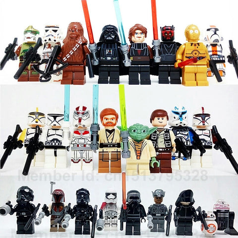 24pcs/Set Star Wars Minifigures