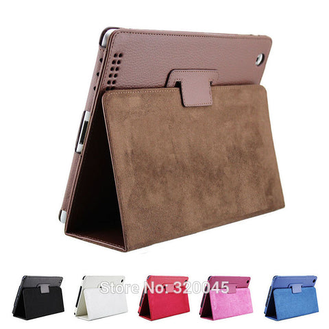 Business Flipping Leather Case IPAD 3, 4 Smart Stand Holder
