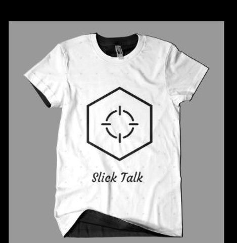 Men Hip Hop Slick Talk Tee