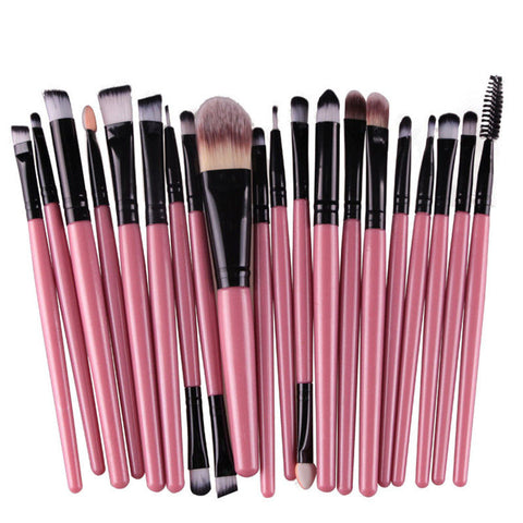 20pcs  Of Professional Makeup Eye Shadow Brushes