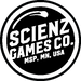 Scienz Games Co. Logo | Makers of Mini Beer Pong, Cornhole, Flip Cup & more!
