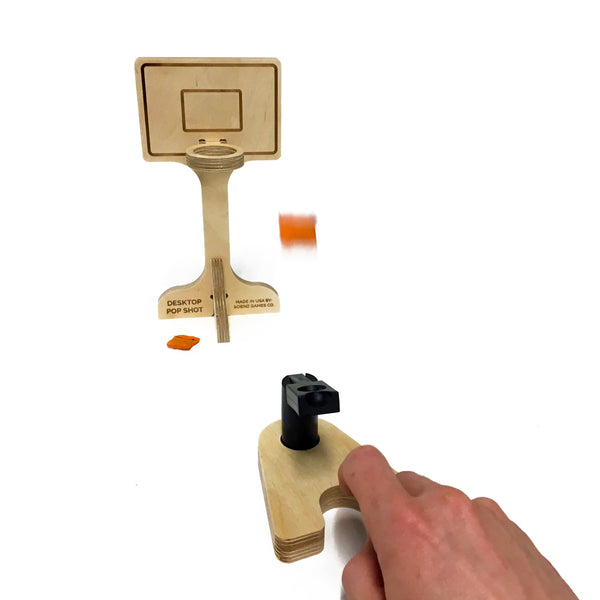 Desktop Pop Shot Basketball | Scienz Games Co.