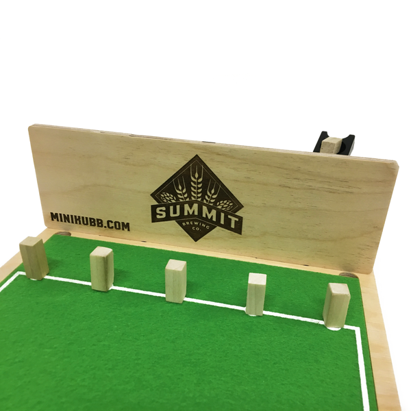 Summit Brewing Custom Engraved Mini Kubb Fences
