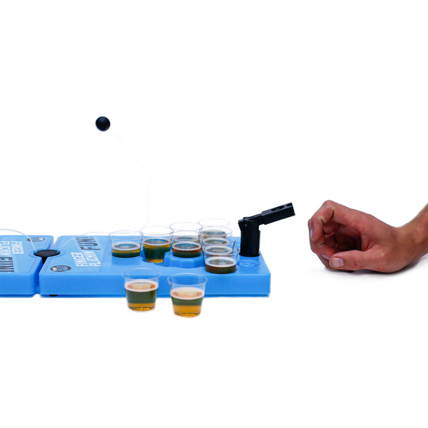 Mini Beer Pong Travel Set - Made by Scienz in Minnesota