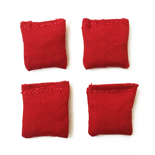 "Mini 1"" Bean Bag Set - 4 Pack"
