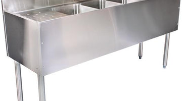 Stainless Steel Underbar Sinks