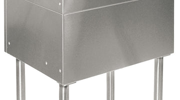 Stainless Steel Underbar Ice Bins