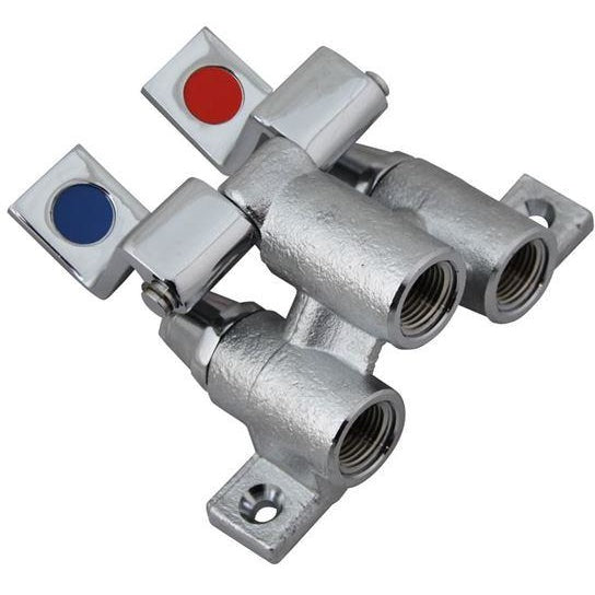 Commercial Dual Lever Control Foot Valve - AT Faucet
