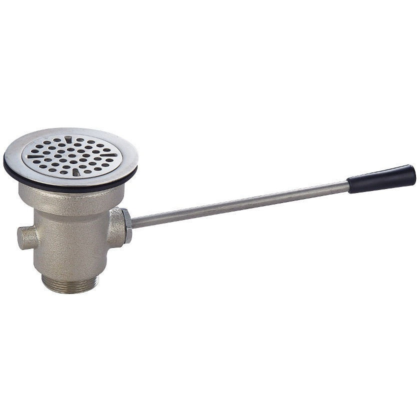 Commercial Sink Lever Waste Drain Straight Handle - AT Faucet