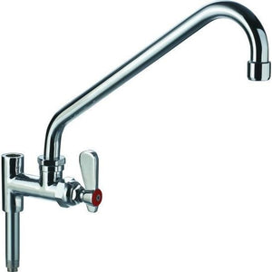 "Commercial Pre-Rinse Faucet Add-On Faucet with 10"" Swing Spout - AT Faucet"