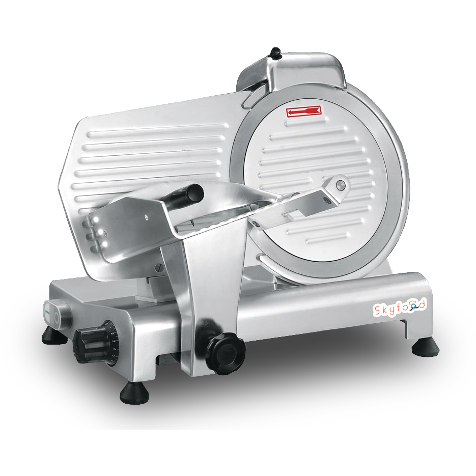 "Commercial Kitchen Meat Slicer 9"" with 1/4 Horsepower NSF & ETL Certified - AT Faucet"