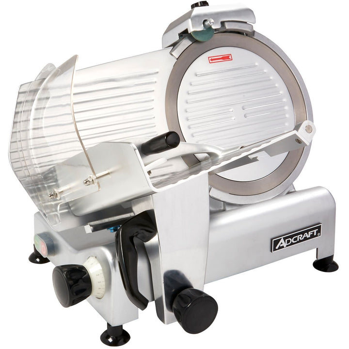 "Admiral Craft SL300ES Commercial Light Duty Slicer 1/3 Horsepower 12"" Blade - AT Faucet"