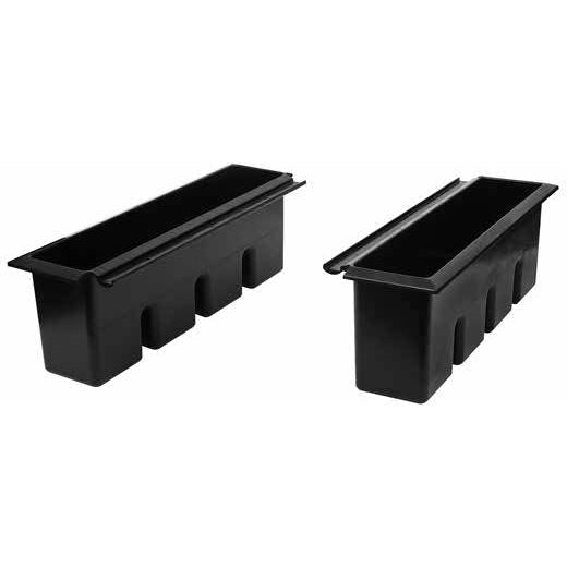 "Glastender 24"" Ice Bin Inserts - AT Faucet"